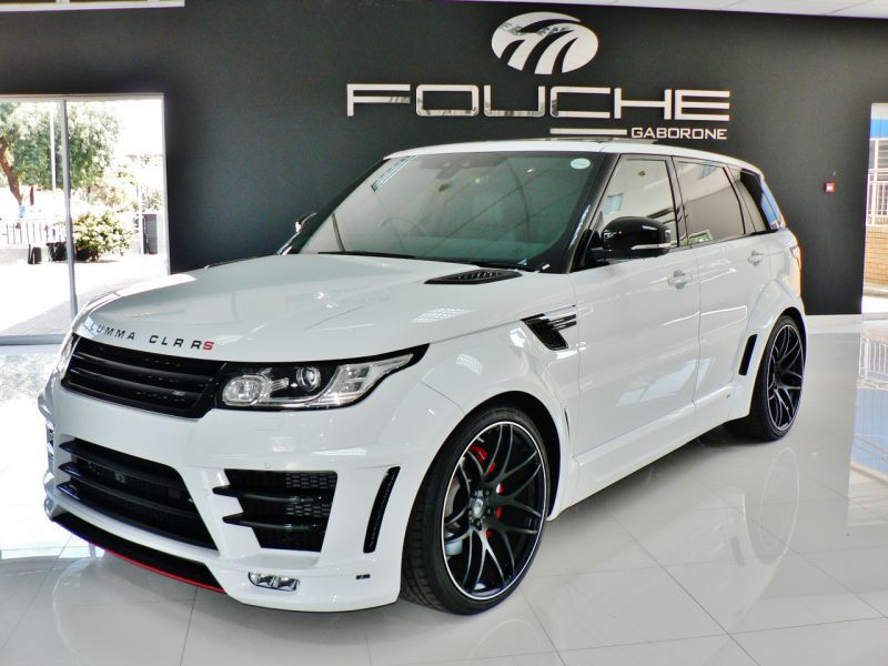 2018 Land Rover Range Rover Lumma Clr Rs Sport For Sale 852 Km