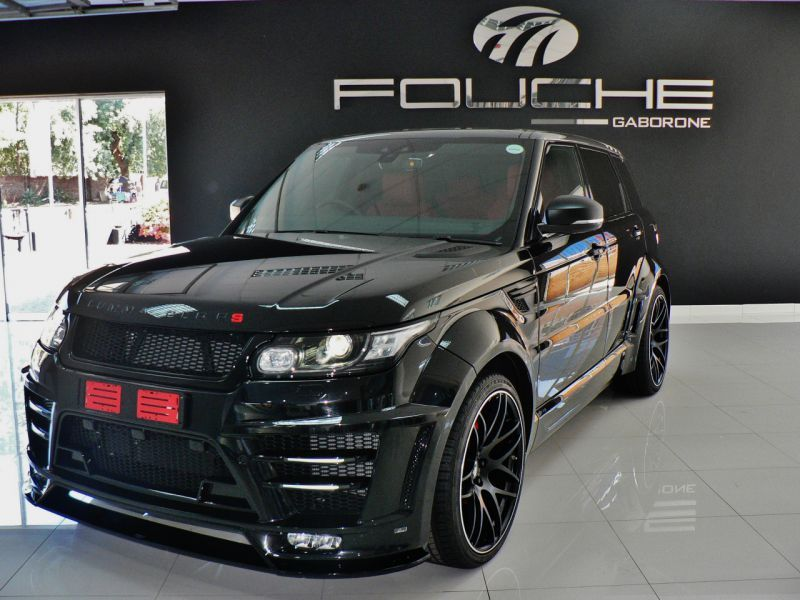 2018 Land Rover Range Rover Lumma Clr Rs For Sale 389 Km