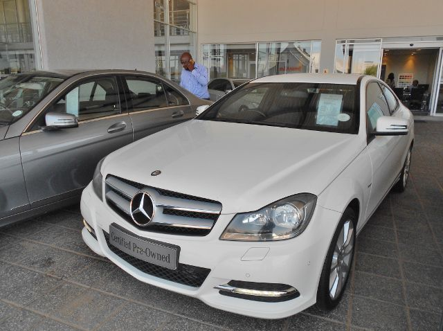 Used Mercedes-Benz C180 Coupe  for sale in Gaborone, Botswana