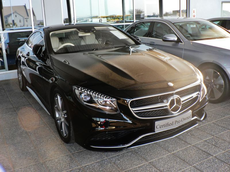 2015 Mercedes-Benz S63 AMG pictures