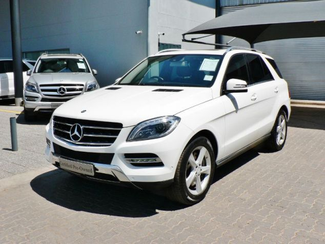 Mercedes-Benz ML500 in Paraguay