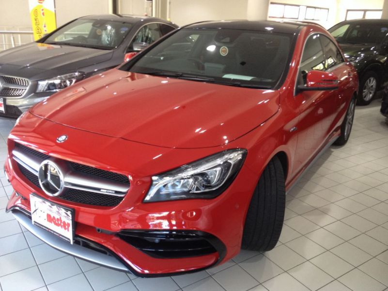 2016 Mercedes Benz Cla 45 Turbo Sunroof Red For Sale 2 700