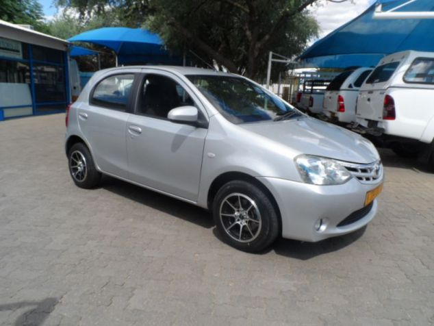 Toyota Etios 1.5 Xs 5 Dr in Paraguay