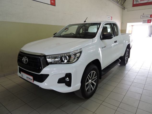 Toyota Hilux in Paraguay
