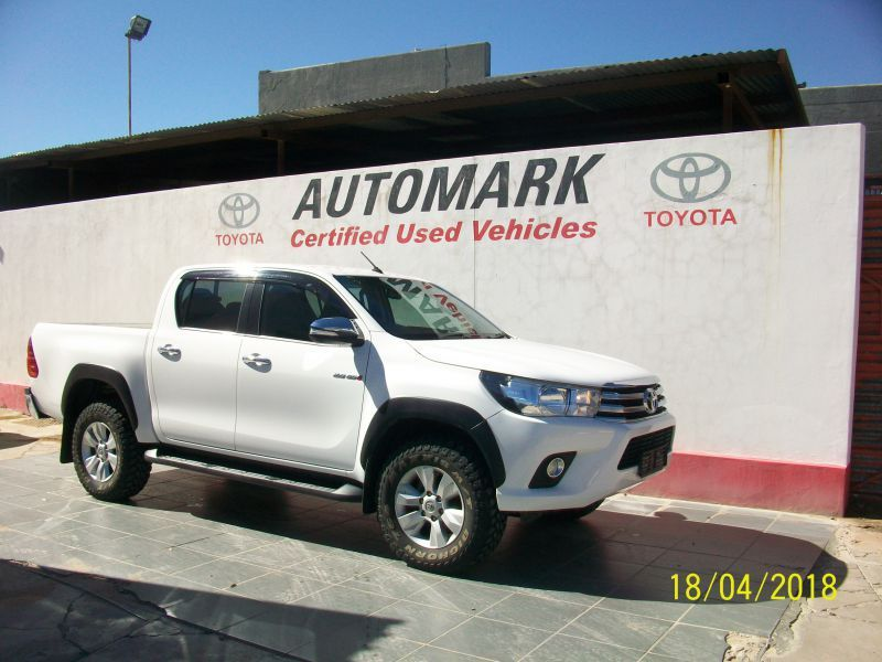 2016 Toyota Hilux 2.8  double cab 4x4