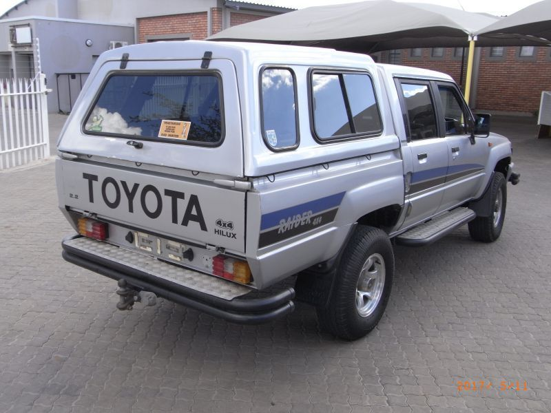 Toyota Hilux service Manual 4y