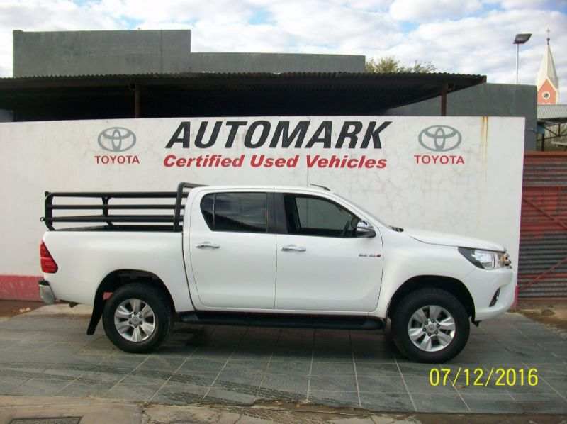 Used Toyota HILUX 2.8 4X4 DOUBLE CAB manual  for sale in Windhoek, Gobabis, Walvis Bay, Okahandja, Ongwediva, Otjiwarongo, Mariental, Namibia
