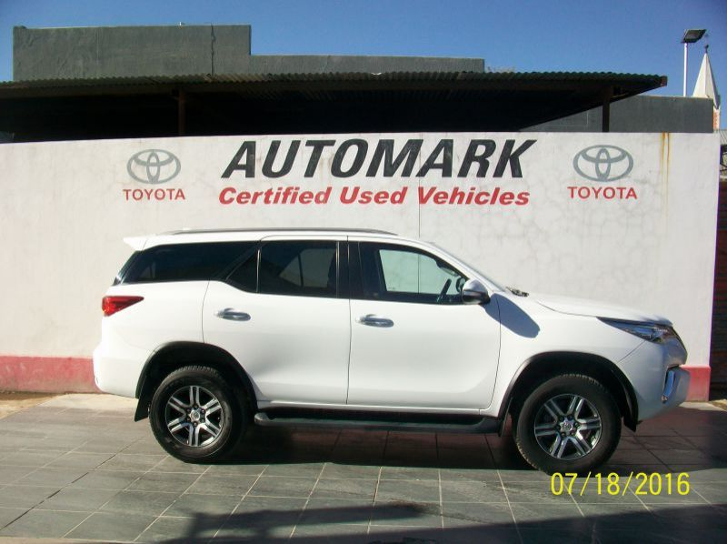 Used Toyota 2016 Toyota fortuner 2.8 automatic 4/4  for sale in Windhoek, Gobabis, Walvis Bay, Okahandja, Ongwediva, Otjiwarongo, Mariental, Namibia