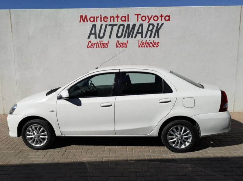 Used Toyota Etios 1.5 Sprint Sedan  for sale in Windhoek, Gobabis, Walvis Bay, Okahandja, Ongwediva, Otjiwarongo, Mariental, Namibia