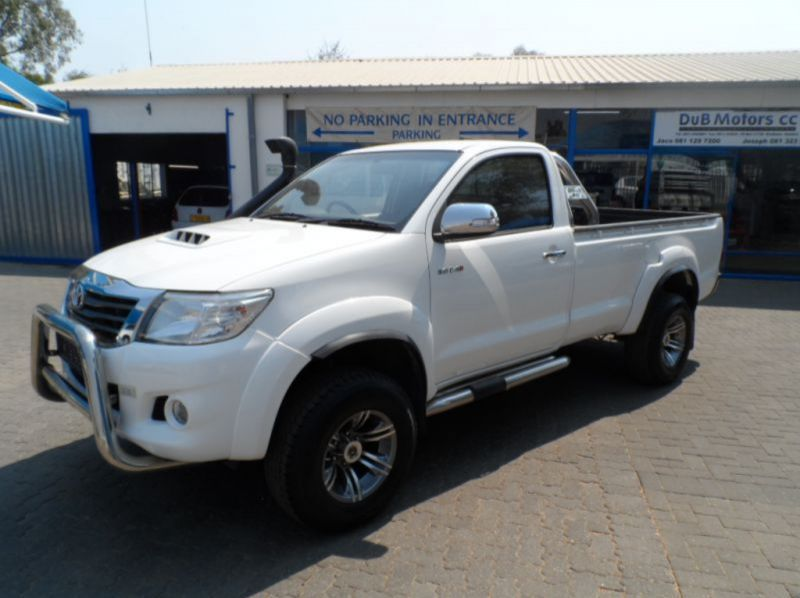 Used Toyota Hilux 3.0 D4D 4X2 S/cab  for sale in Windhoek, Namibia