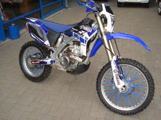 Used Yamaha WR 450 F  for sale in Windhoek, Namibia