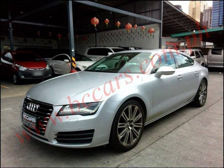 2013 audi a7 for sale brand new automatic transmission bc cars. Black Bedroom Furniture Sets. Home Design Ideas