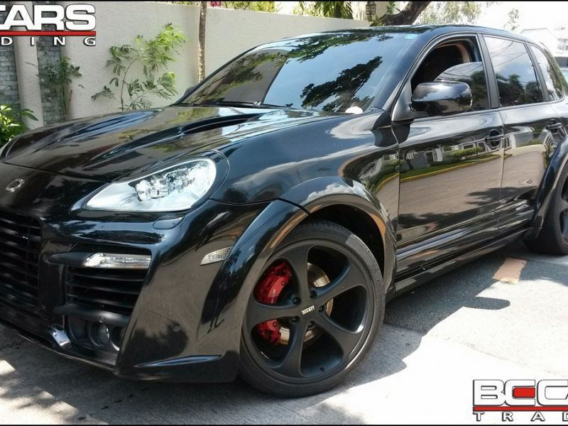 2009 Porsche Cayenne Turbo For Sale Brand New Automatic Transmission Bc Cars