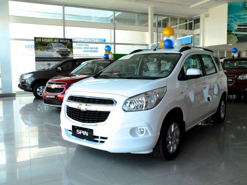 2015 Chevrolet Spin Ltz For Sale Brand New Automatic