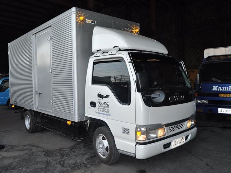 best best wholesaler the sale of shoes 2017 Isuzu 14ft NKR Closed Van for sale | Brand New ...