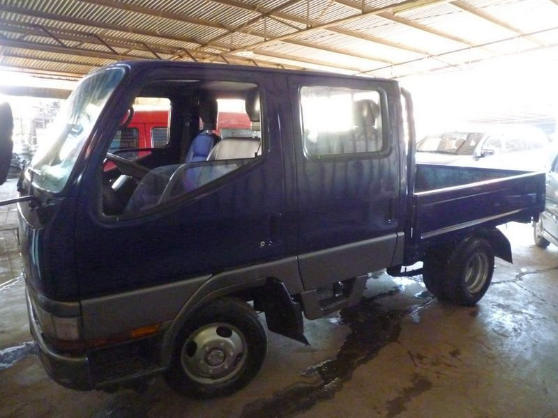 1993 Mitsubishi Canter Double cab Truck 4x4 MT 4M40 Engine for sale