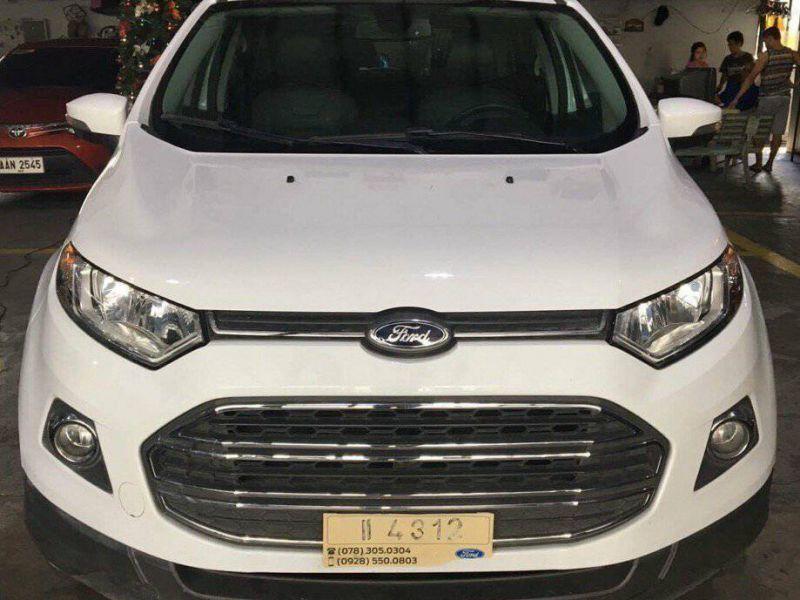 2015 Ford Ecosport Titanium For Sale 13 000 Km