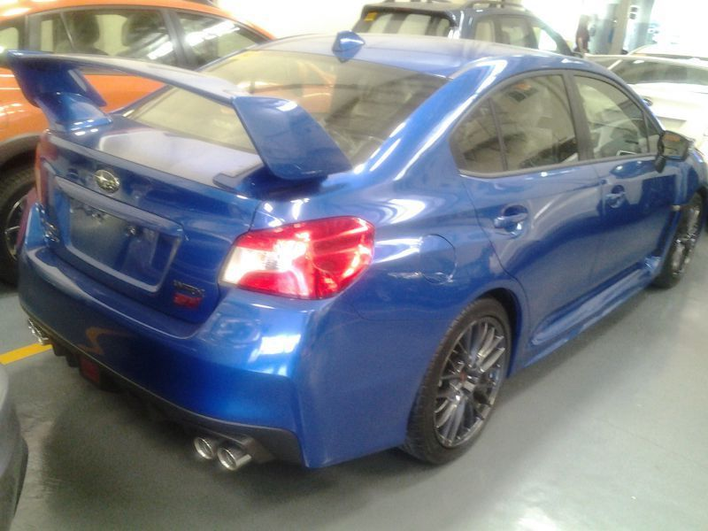 2016 subaru wrx sti with wing for sale brand new manual transmission subaru global city. Black Bedroom Furniture Sets. Home Design Ideas