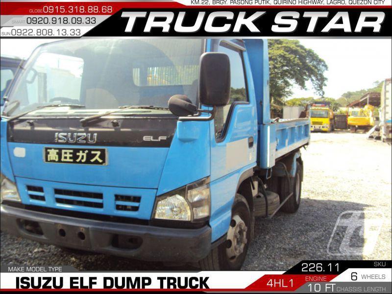 2018 Isuzu Elf Mini Dump Truck for sale | 100 000 Km - Truck