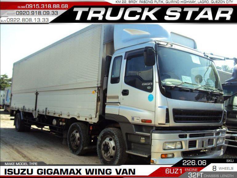 2018 Isuzu Gigamax Wing Van for sale | 100 000 Km - Truck Star Motor