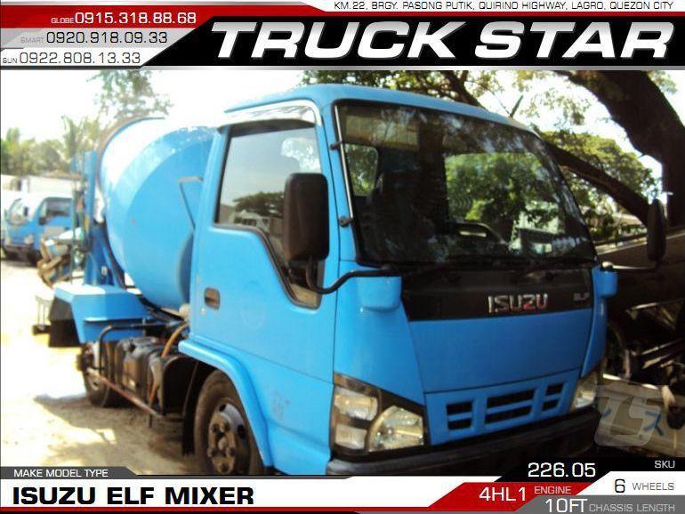 2018 Isuzu Elf Mixer for sale | 100 000 Km - Truck Star