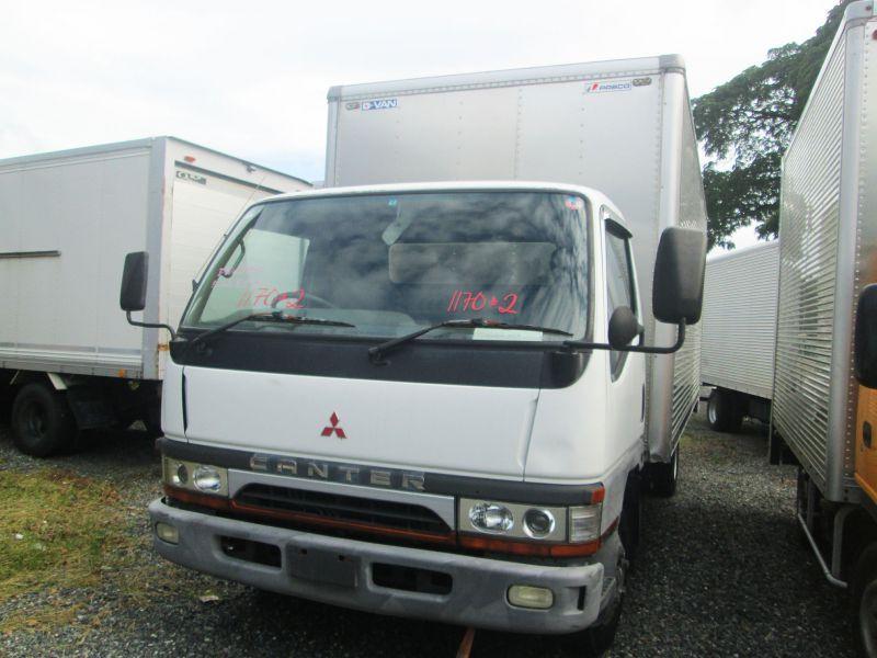 2017 Mitsubishi Canter Aluminum Closed Van For Sale 100