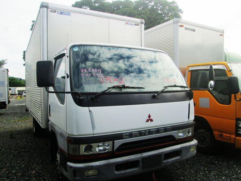 5266fd2831 2017 Mitsubishi Canter Aluminum Closed Van pictures ...