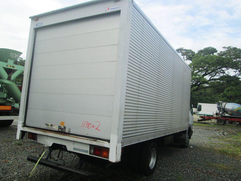 6df8e82798 2017 Mitsubishi Canter Aluminum Closed Van for sale
